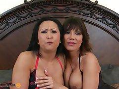 Asian Big Boobs Mature Pornstar Threesome