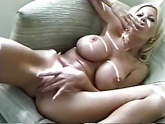 Big Boobs Blonde Masturbation Mature