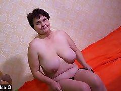 Czech Granny Masturbation Mature