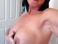 Amateur Big Boobs Mature Granny POV