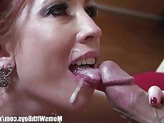 Mature MILF Pornstar Redhead