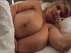 Big Boobs Blonde MILF Nipples