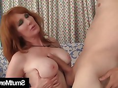 Hardcore Mature Old and Young Redhead Teen