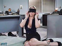 Big Boobs MILF Mature Secretary Big Cock