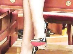 Stockings Femdom MILF Lingerie Pantyhose