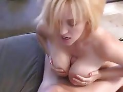 Amateur Big Boobs Blonde MILF