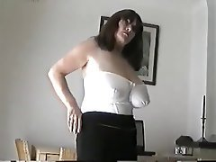 Big Boobs Mature MILF Softcore Stockings