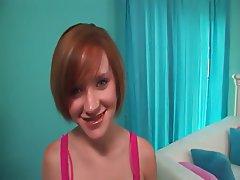 Babe Big Boobs Creampie Redhead Skinny