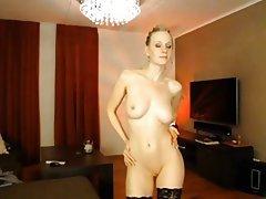 Amateur Big Boobs Blonde Stockings Webcam