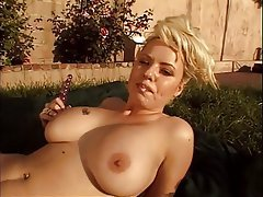 Masturbation Big Boobs Blonde Mature