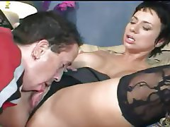 Cumshot Hardcore Mature Old and Young Stockings