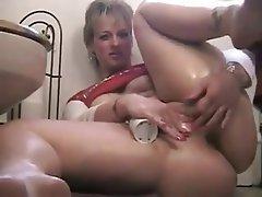 Amateur BBW Big Boobs Mature Masturbation