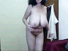 Amateur Big Boobs Granny Mature Webcam