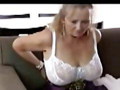 Amateur Big Boobs British Granny