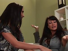 Babe Big Boobs Lesbian Old and Young Pornstar