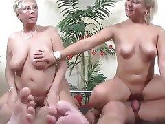 Granny Group Sex Mature MILF