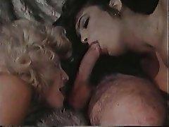 Big Boobs Blonde Brunette Threesome Vintage
