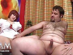 Amateur Big Boobs Creampie German Threesome
