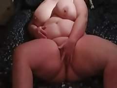 Amateur BBW Big Boobs Masturbation POV