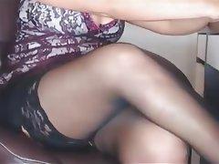 Mature MILF Stockings Webcam